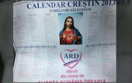 calendar ortodox ARD